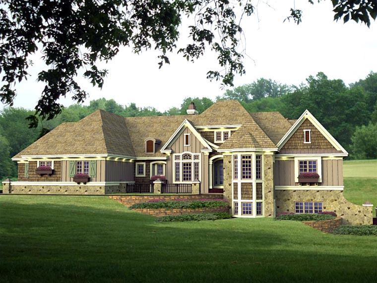 House Plan 42642 at FamilyHomePlans.com