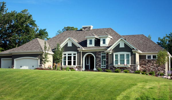 House Plan 42648 with 4 Beds, 5 Baths, 4 Car Garage Elevation