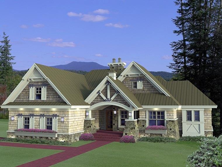 Craftsman House Plan 42652