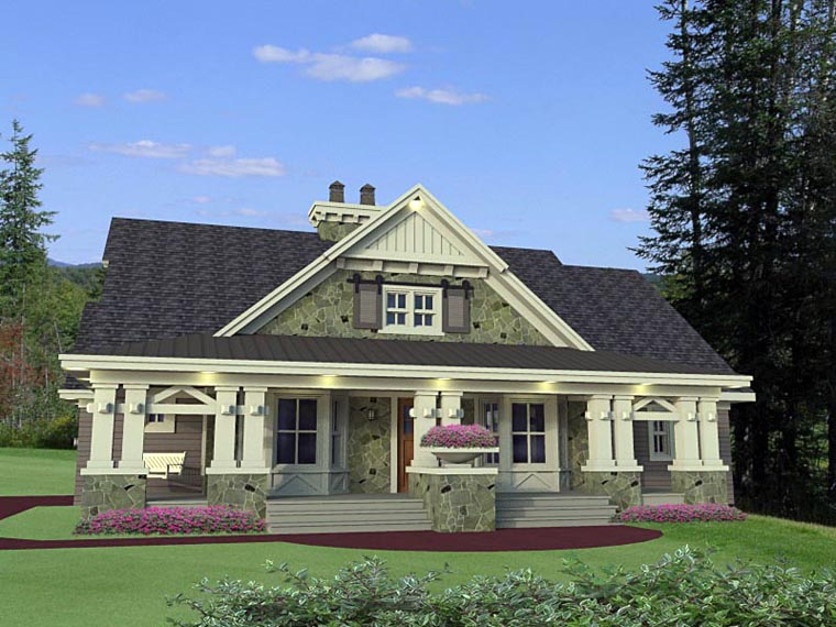 House Plan 42653 At Familyhomeplans.Com