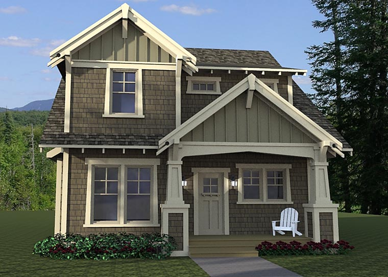 House plan 42673 at for Familyhomeplans 75137