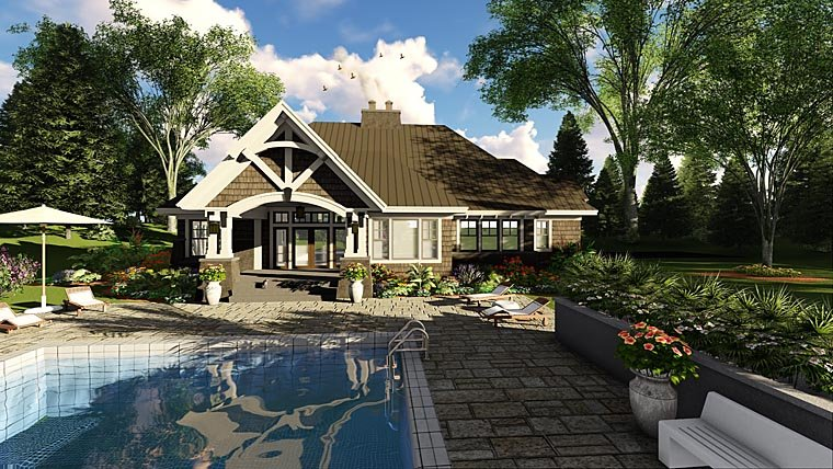 Bungalow Cottage Craftsman French Country Tudor House Plan