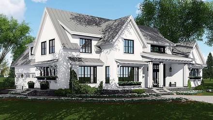 Country, Farmhouse, Southern, Traditional House Plan 42687 with 4 Beds, 5 Baths, 3 Car Garage