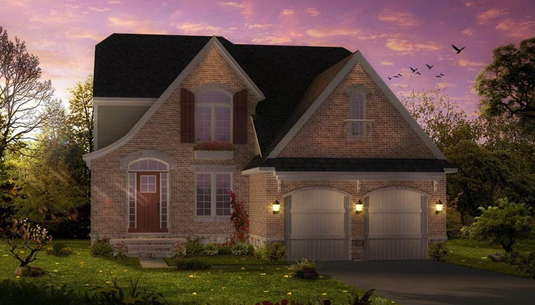 Cottage Country Craftsman House Plan 42828 Elevation