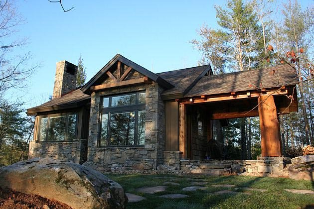 Cabin, Cottage, Craftsman House Plan 43204 with 2 Beds, 2 Baths Picture 2