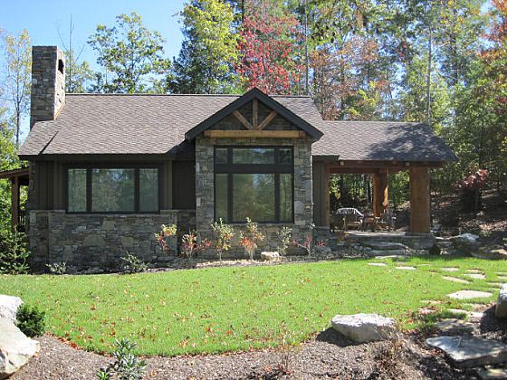 Cabin, Cottage, Craftsman House Plan 43204 with 2 Beds, 2 Baths Picture 3