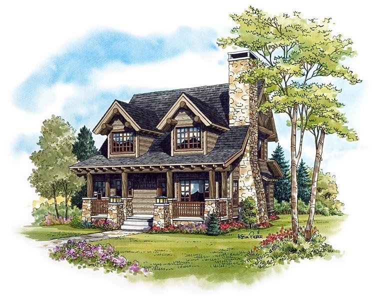 House Plan 43212 at FamilyHomePlanscom