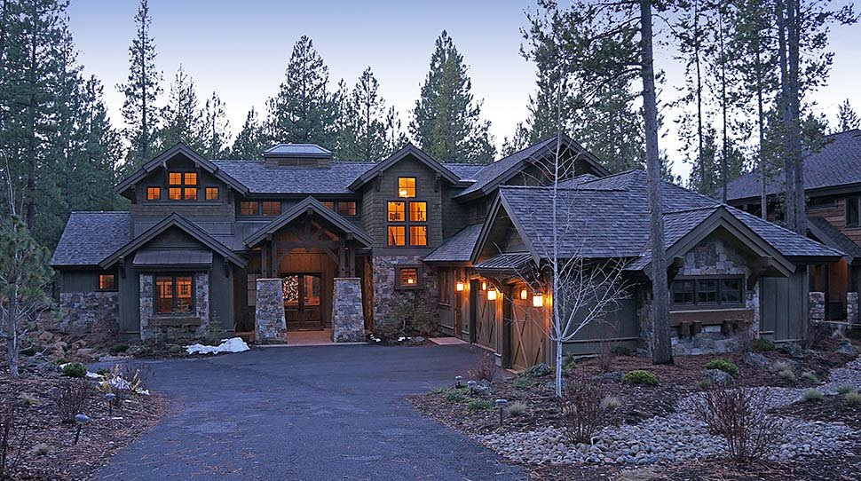 Craftsman House Plan 43303 with 4 Beds, 5 Baths, 3 Car Garage Picture 17