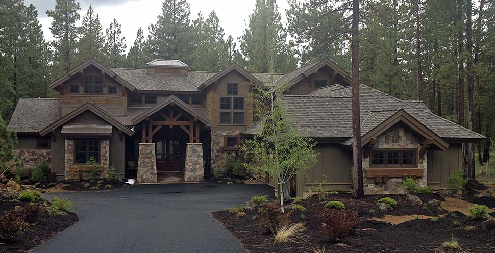 Craftsman House Plan 43303 with 4 Beds, 5 Baths, 3 Car Garage Picture 18