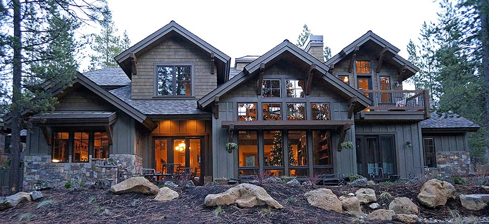Craftsman House Plan 43303 with 4 Beds, 5 Baths, 3 Car Garage Picture 4