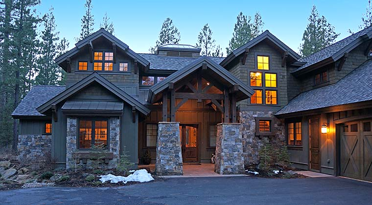 Craftsman House Plan 43303 with 4 Beds, 5 Baths, 3 Car Garage Picture 5