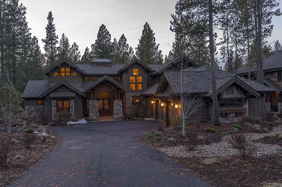 Craftsman House Plan 43303 with 4 Beds, 5 Baths, 3 Car Garage Picture 6
