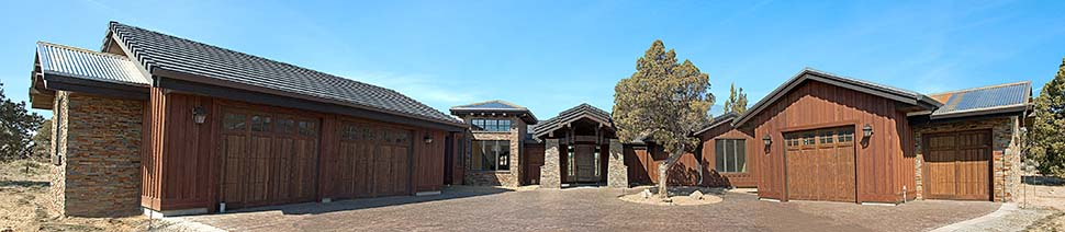 Tuscan House Plan 43308 with 3 Beds, 4 Baths, 3 Car Garage Picture 1