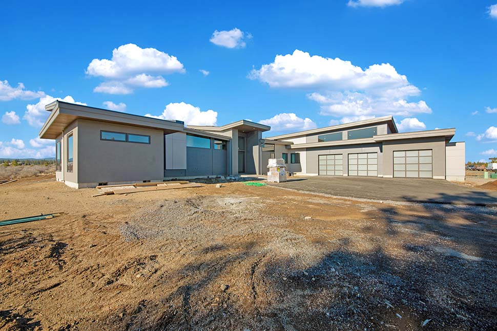 Contemporary, Modern House Plan 43333 with 4 Beds, 4 Baths, 3 Car Garage Picture 3