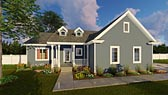 Plan Number 44009 - 1547 Square Feet