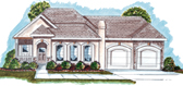 Plan Number 44020 - 1586 Square Feet