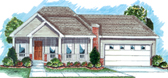 Plan Number 44021 - 1586 Square Feet