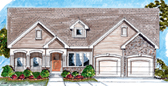 Plan Number 44024 - 1685 Square Feet