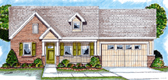 Plan Number 44027 - 1696 Square Feet