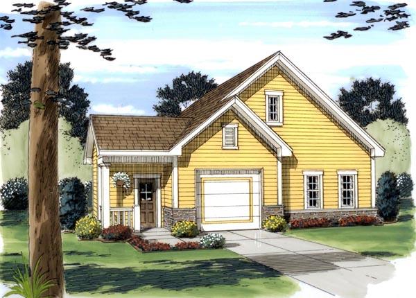 Garage Plan 44059 Elevation
