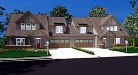 Plan Number 44105 - 3654 Square Feet