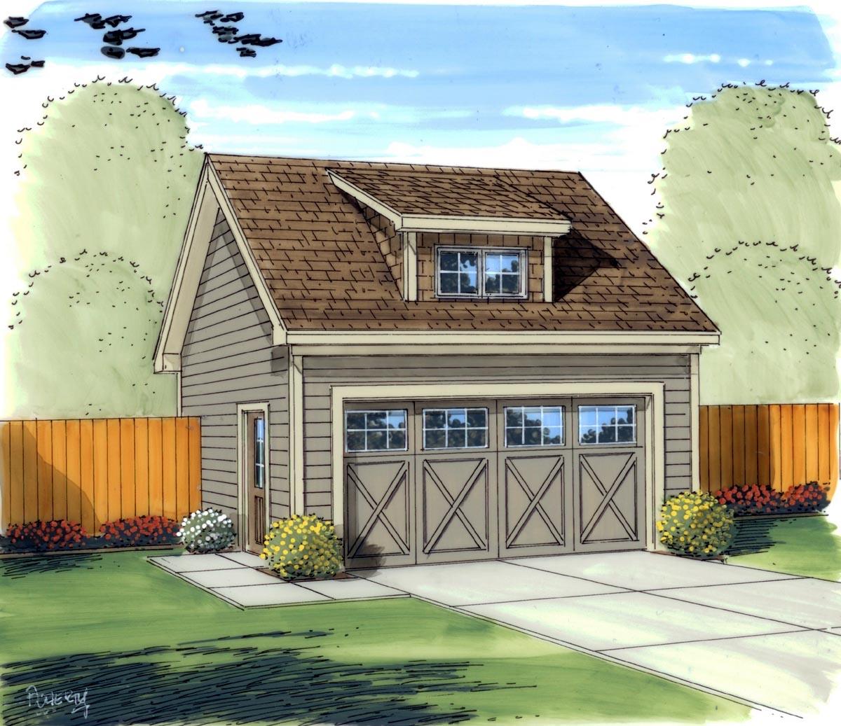 Garage Plan 95826 At Familyhomeplans Com: FamilyHomePlans.com