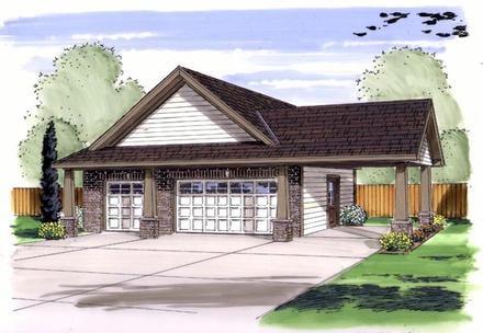 Garage Plan 44136