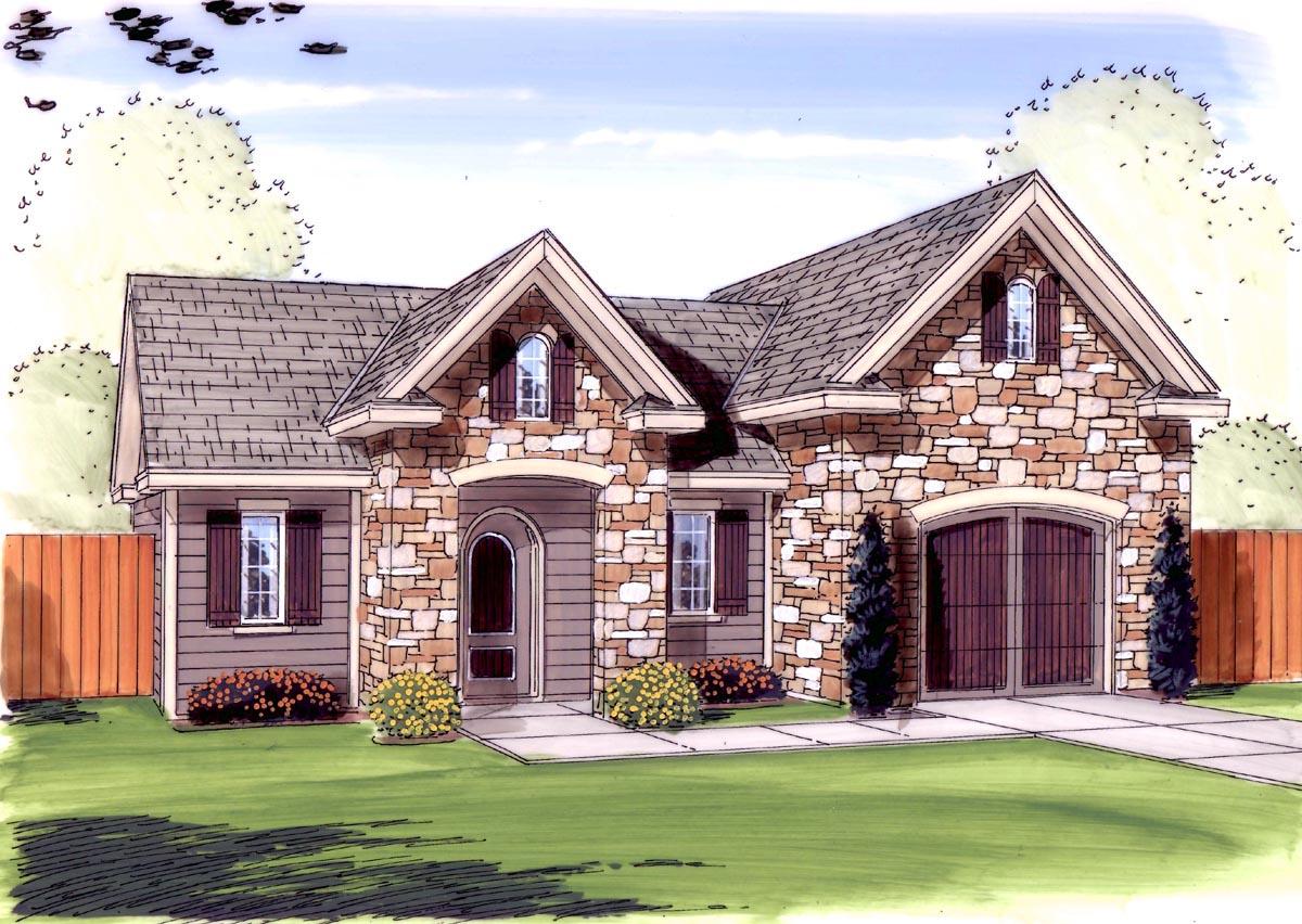 garage plan 44137 at familyhomeplans com
