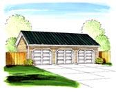 Garage Plan 44155