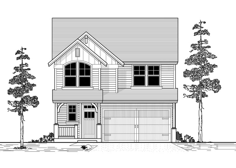 Country Traditional House Plan 44625 Elevation