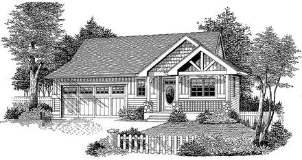 House Plan 44645