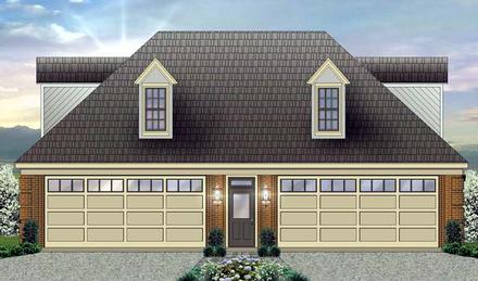 Garage Plan 44906