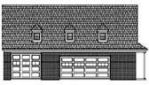 Plan Number 44918 - 1100 Square Feet