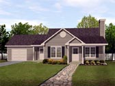 Plan Number 45102 - 1302 Square Feet