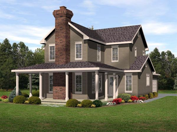 Traditional House Plan 45107