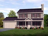 Plan Number 45108 - 1578 Square Feet