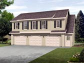 Plan Number 45120 - 1128 Square Feet