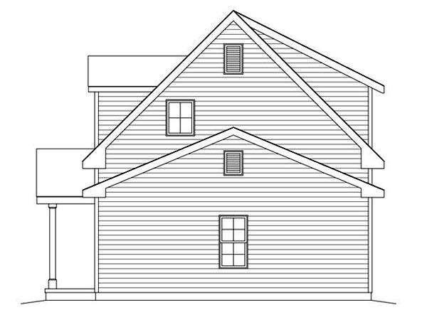 2 Car Garage Apartment Plan 45122 with 2 Beds, 2 Baths Picture 2