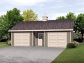 Garage Plan 45125