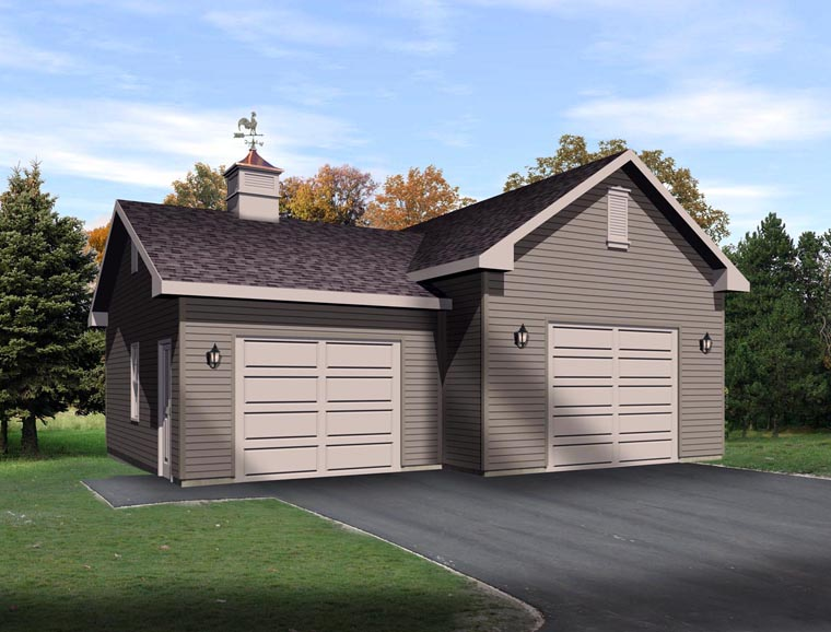 Garage Plan 45130 At FamilyHomePlans.com