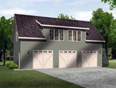 Plan Number 45135 - 741 Square Feet