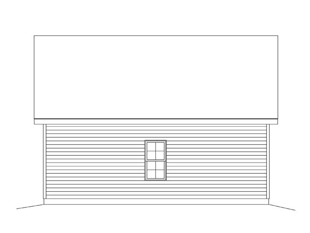 2 Car Garage Plan 45136 Picture 1