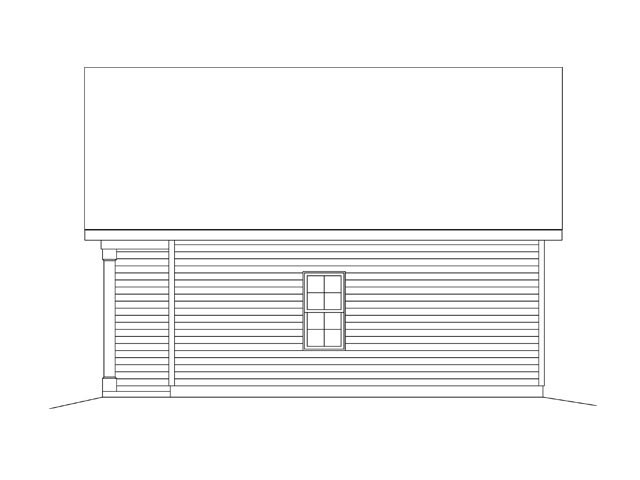 2 Car Garage Plan 45136 Picture 2