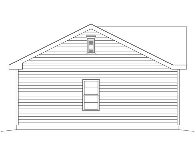 1 Car Garage Plan 45147 Picture 1