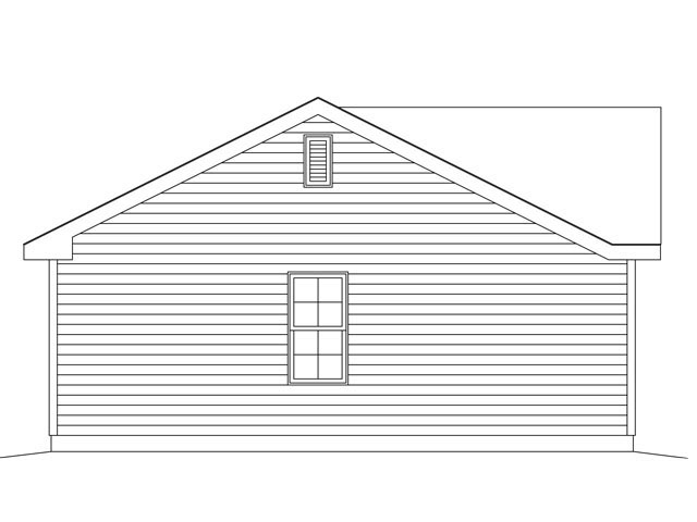 1 Car Garage Plan 45148 Picture 1