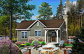 Plan Number 45153 - 781 Square Feet