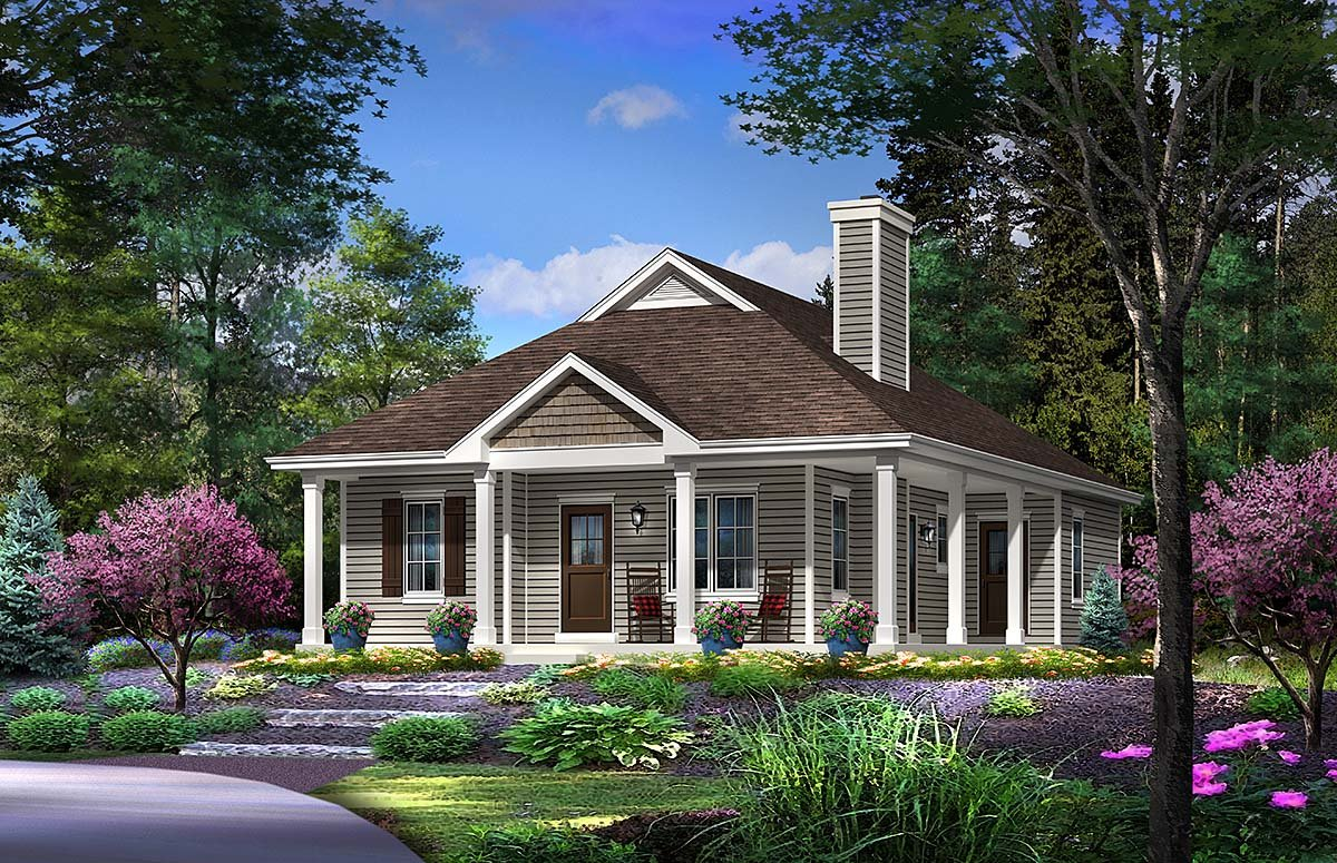 Country House Plan 45155 Elevation