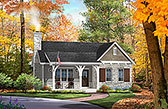 Plan Number 45156 - 1185 Square Feet