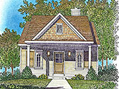Plan Number 45163 - 672 Square Feet