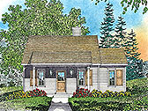 Plan Number 45164 - 790 Square Feet